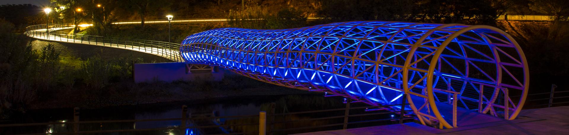Ponte Pedonal Azul