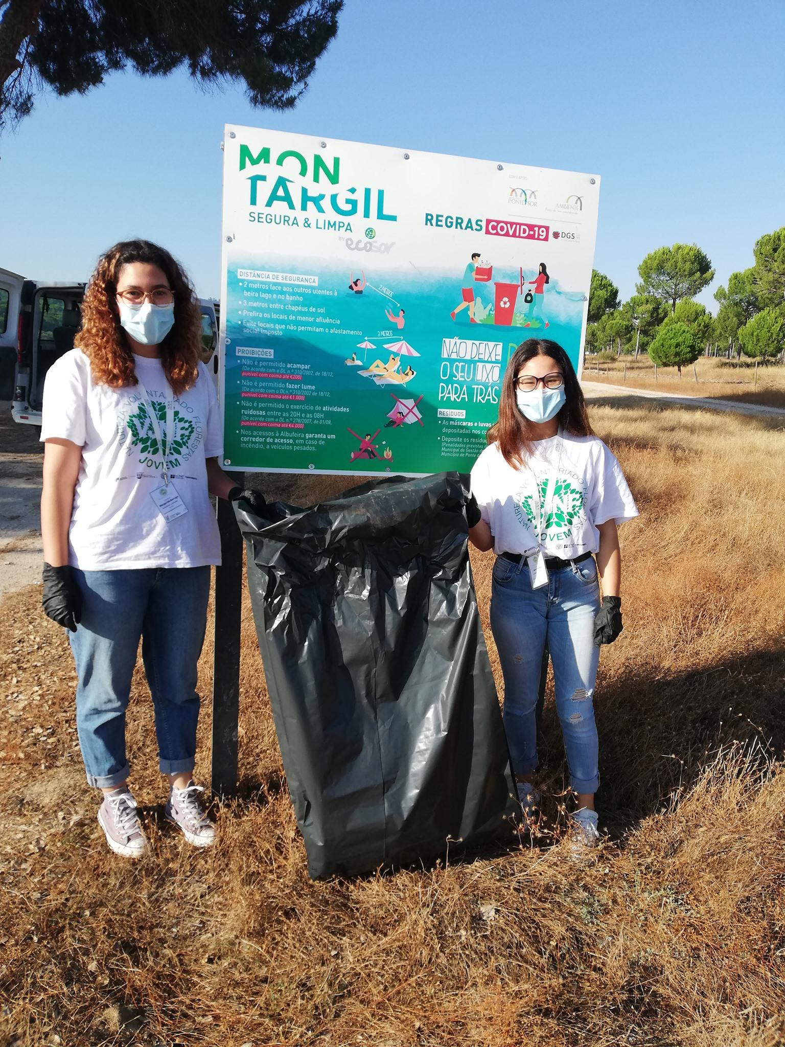 "Voluntariado Jovem para a Natureza e Florestas ""Montargil, Segura e Limpa"""