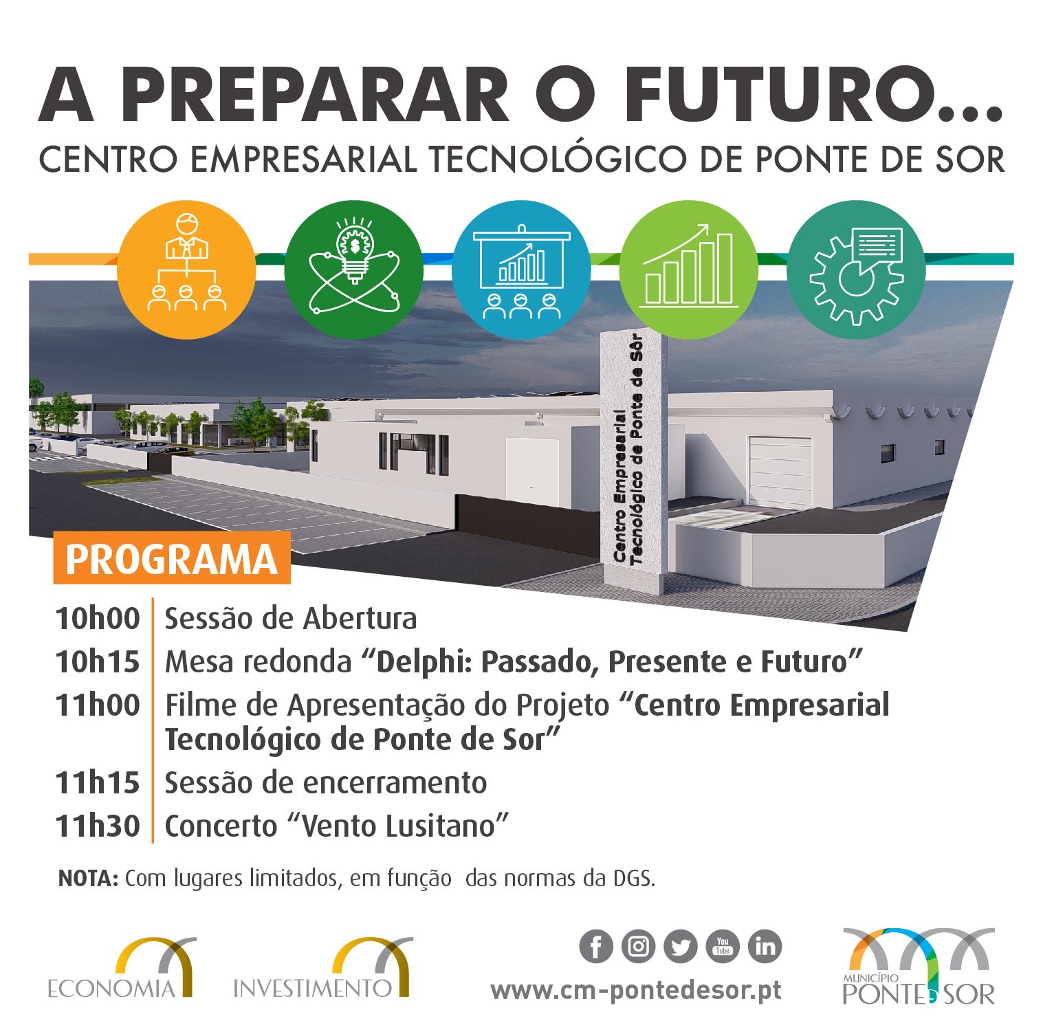 Apresentação Pública – Centro Empresarial e Tecnológico de Ponte de Sor