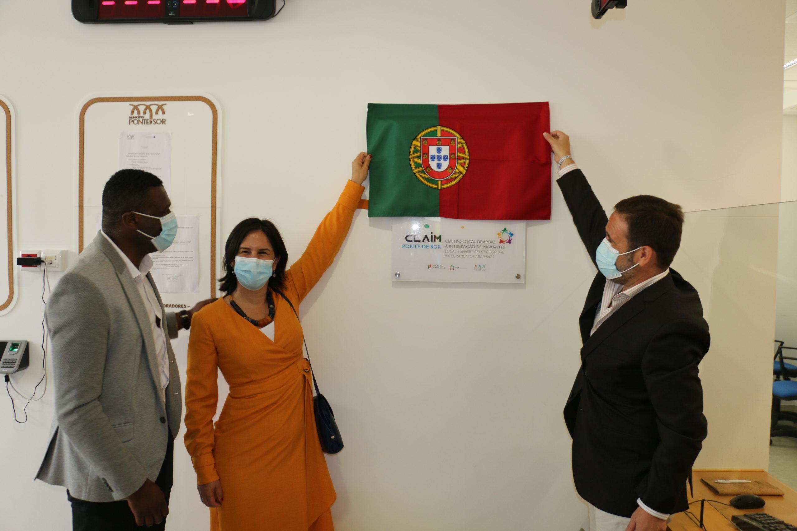Inaugurado Centro Local de Apoio à Integração de Migrantes
