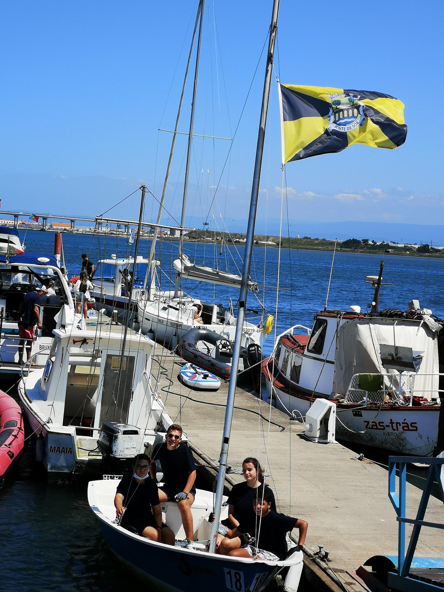 Clube de Vela e Canoagem de Montargil ganha troféu na Regata 4 Horas da Costa Nova em Aveiro