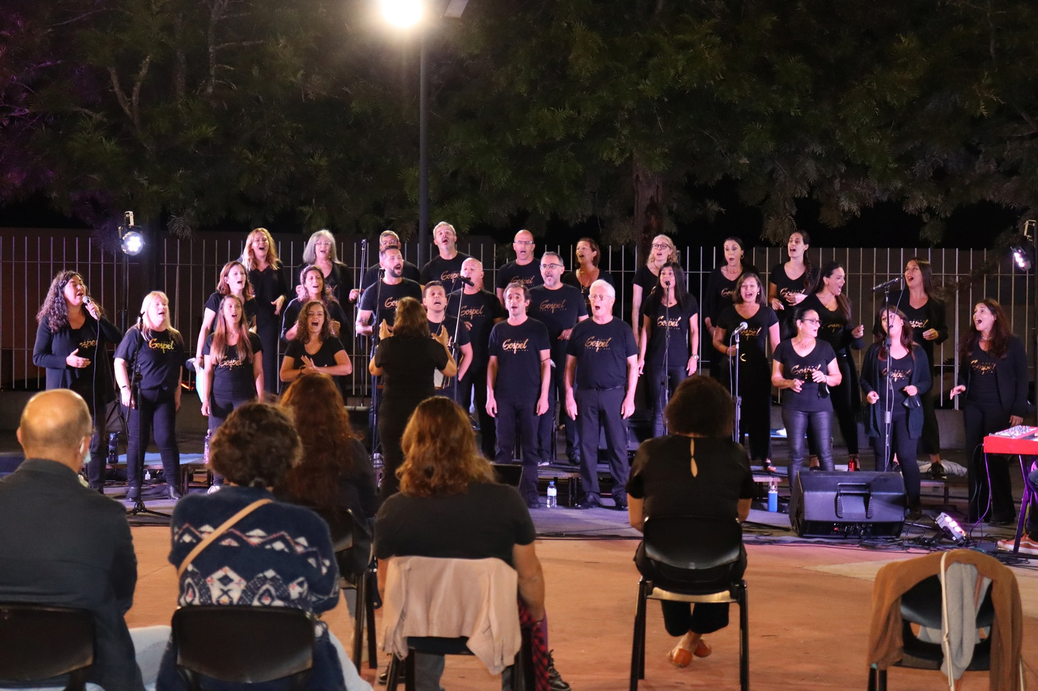 Coro Gospel no Centro de Artes