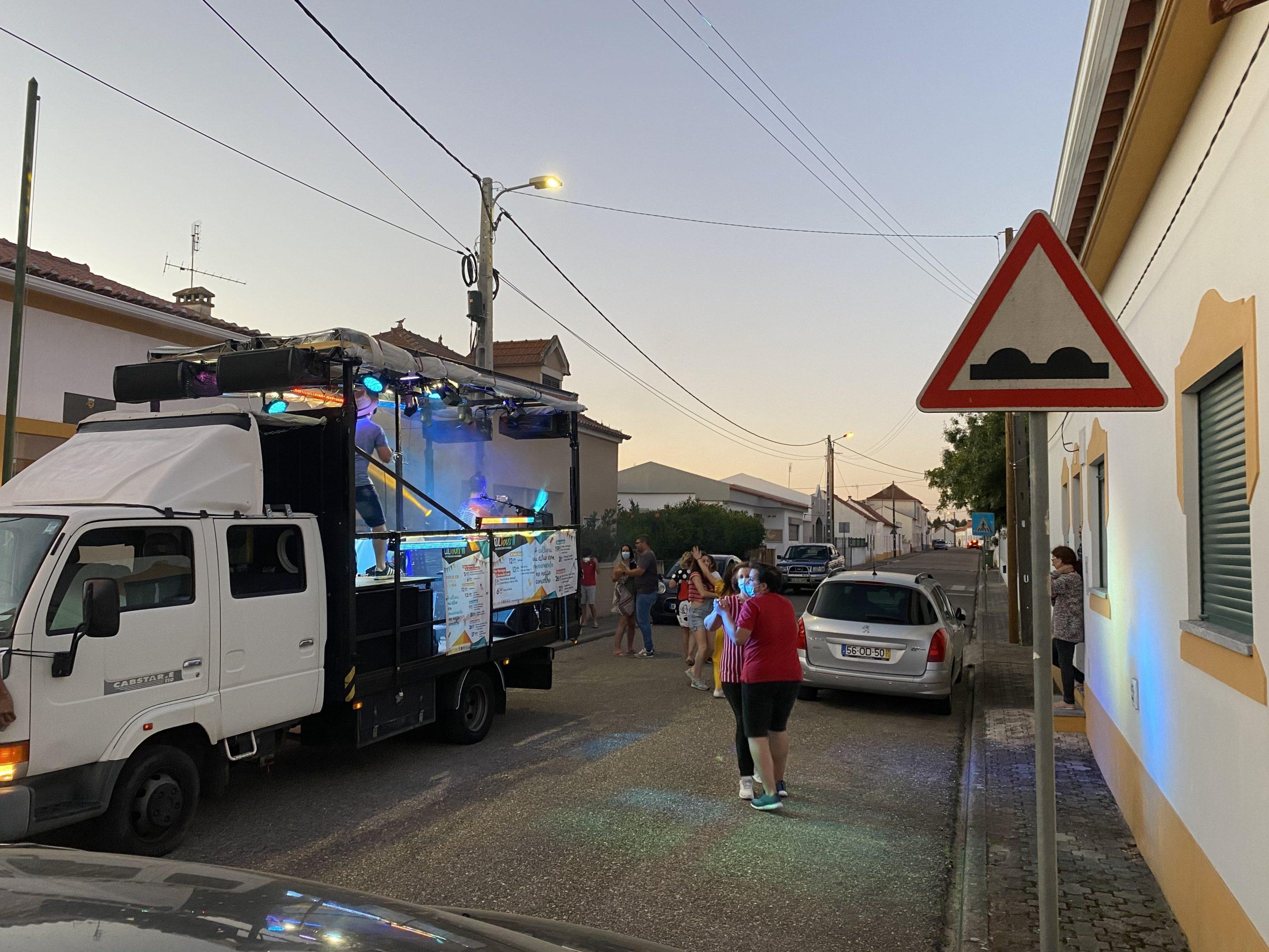 CULtour saiu à rua em Montargil e Foros de Arrão