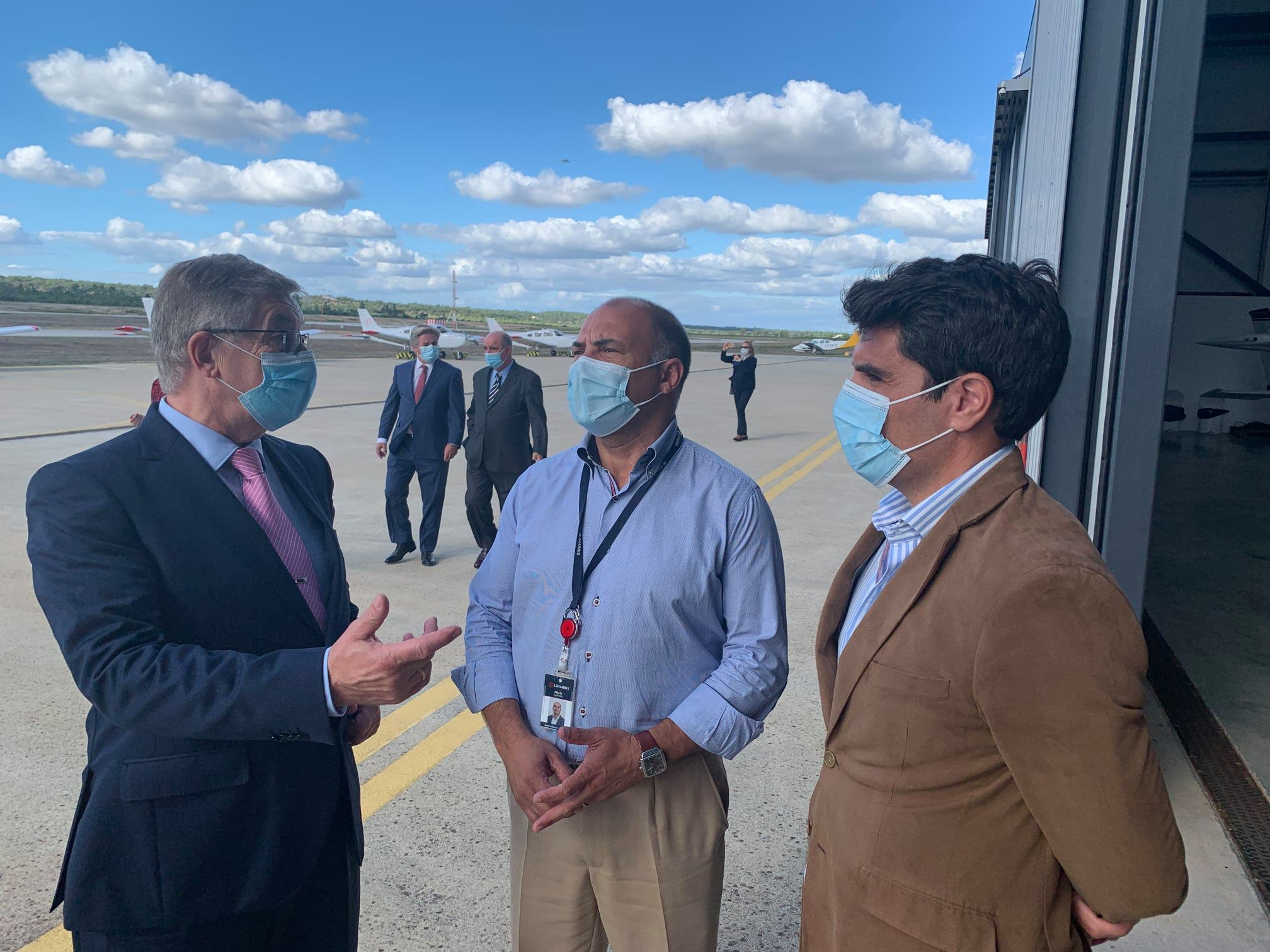 Embaixador da Rússia visita Aeródromo Municipal