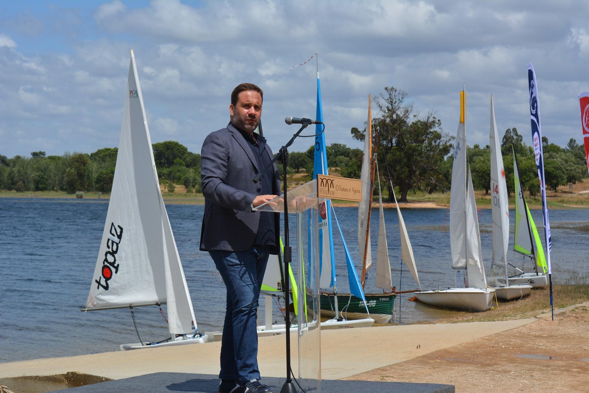 Inauguração do Clube de Vela e Canoagem