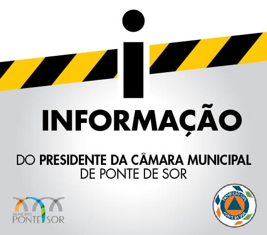 Informação à População