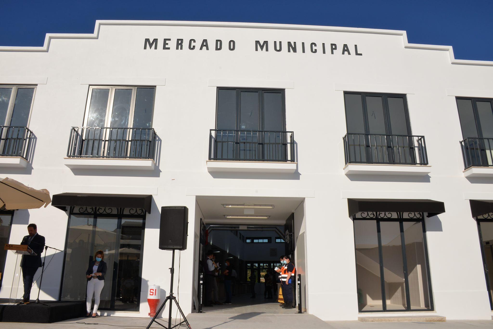 Inauguração do Mercado Municipal