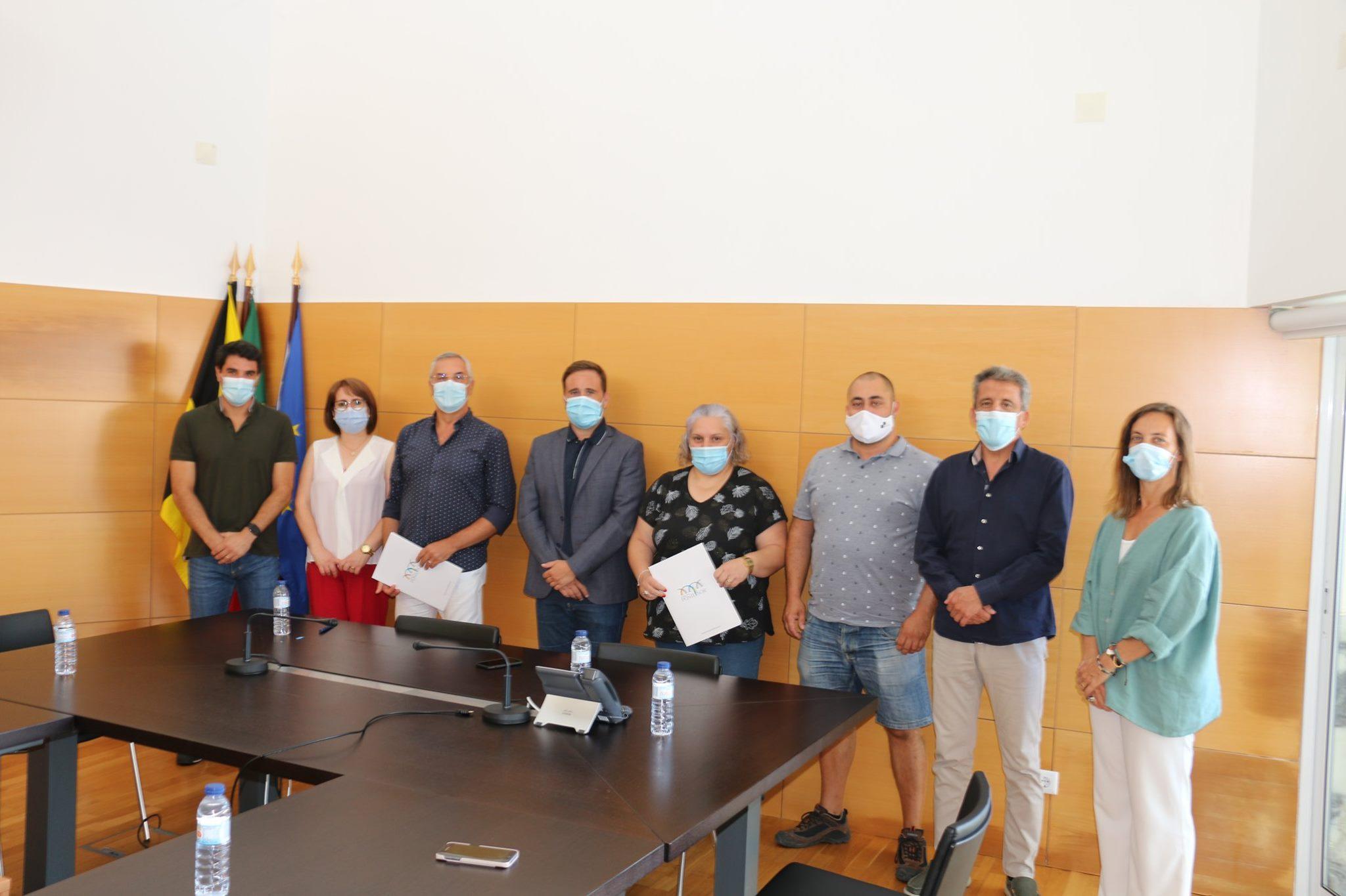 Município, EFC e GEPS assinaram Contratos Programa de Desenvolvimento Desportivo