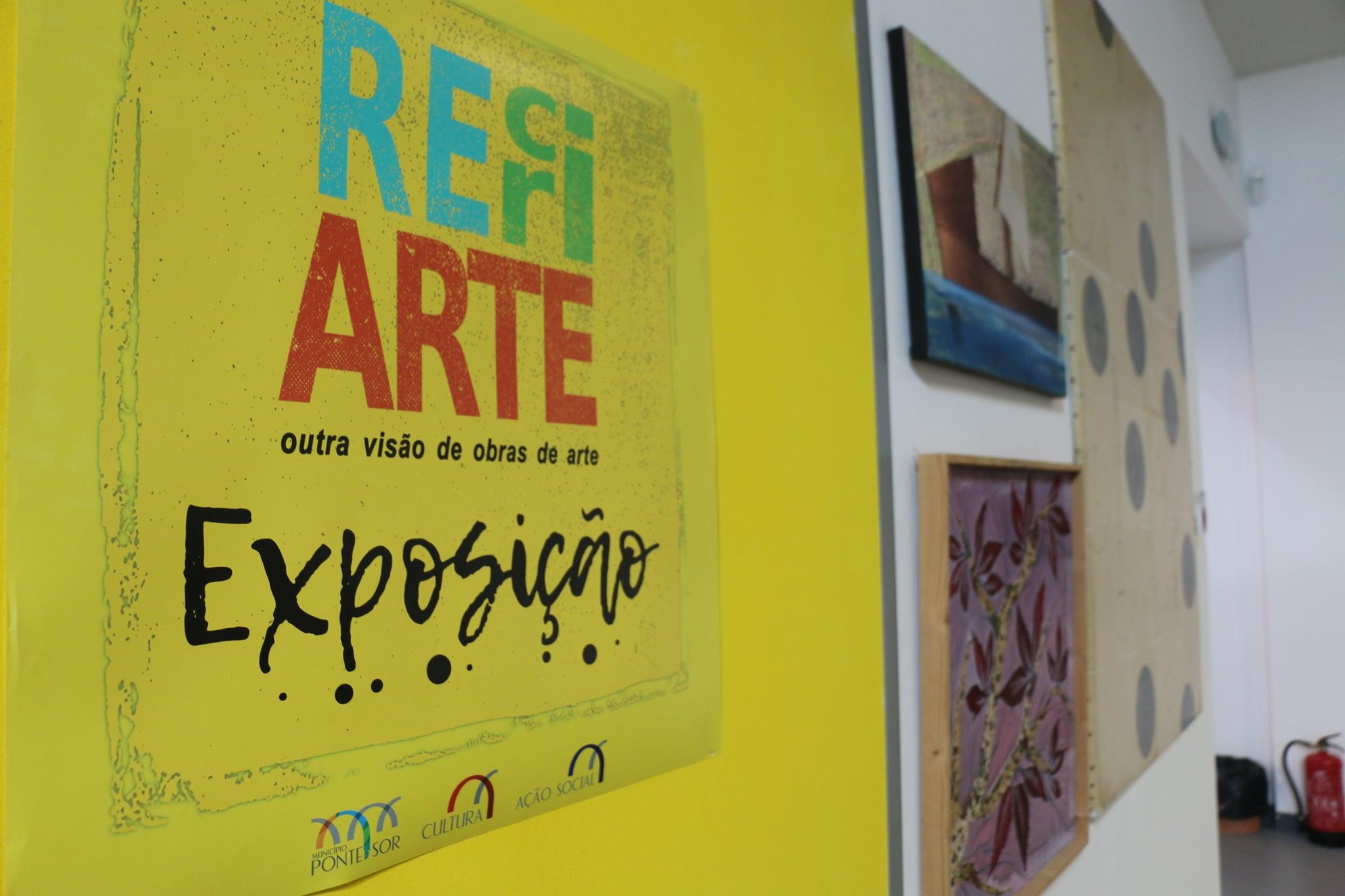 Exposição RecriArte inaugurada