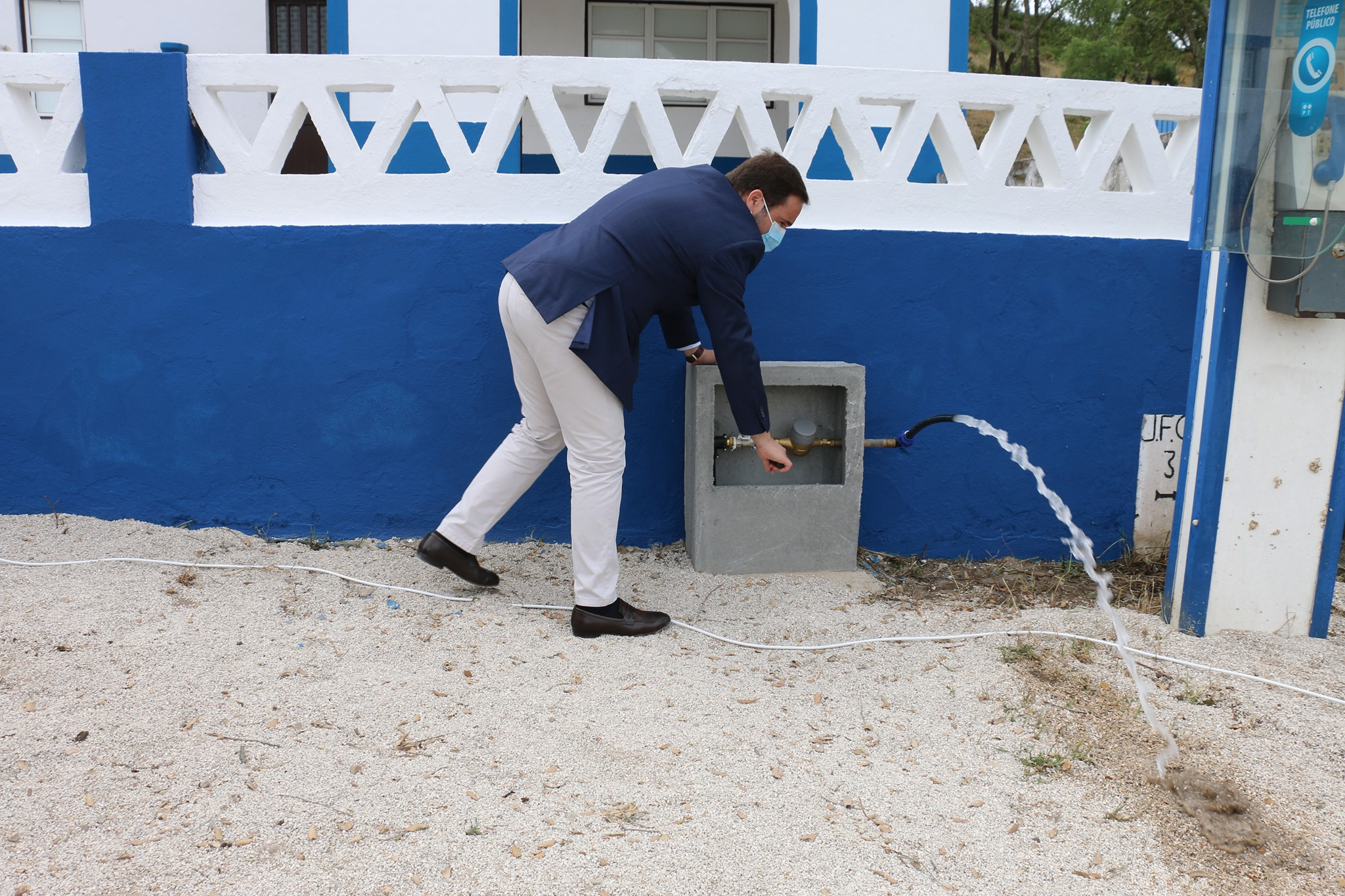 Inaugurado Sistema de Abastecimento de Água em Ribeira das Vinhas